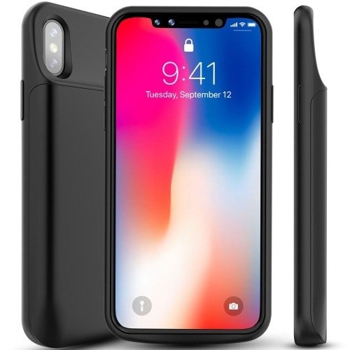 low priced e5961 86450 Battery Case For iPhone X - 6000mAh