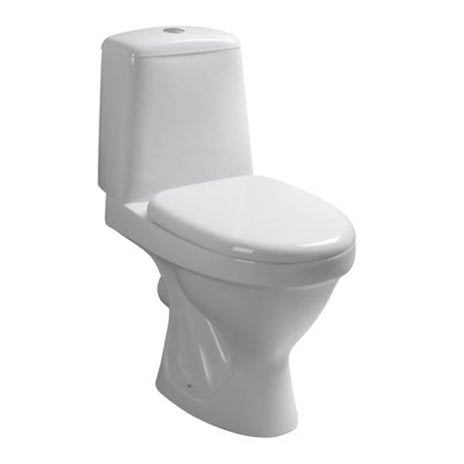 Water Closet -Close Coupled Toilet With Seat Cover (650x355x760mm)