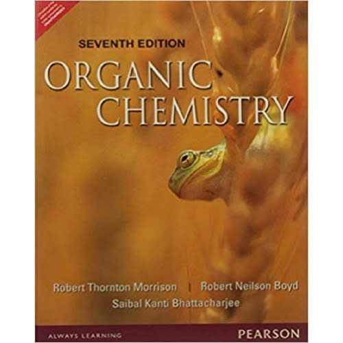 Organic Chemistry By Morrison Boyd