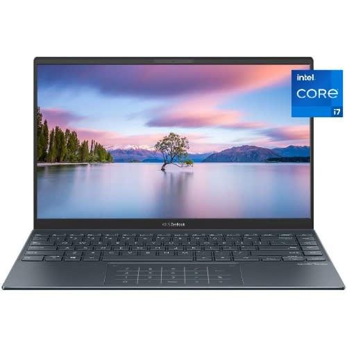 Zenbook 13 UX325EA-KG333T Intel Core I7-1165G7 8GB RAM 512GB SSD, Win10 - PINE GREY.