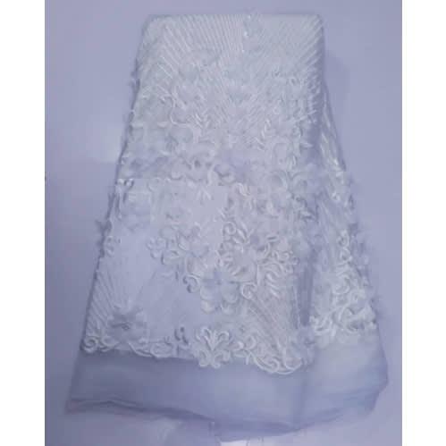 Netcord Lace - White - 5 Yards