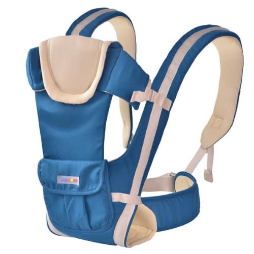 Baby Carrier Backpack Plus Belt 4 Positional Style Lakeblue