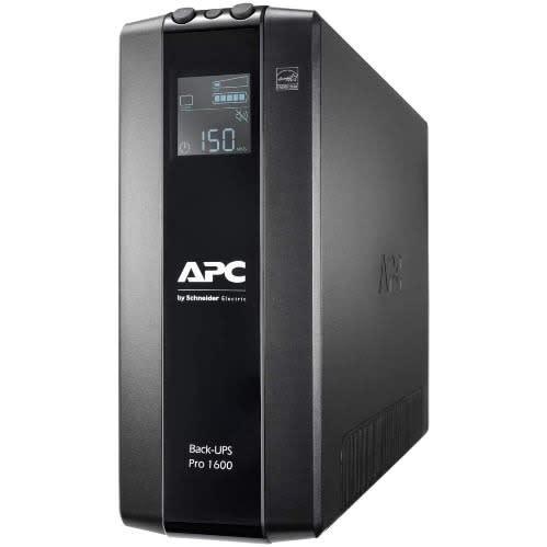 Back UPS Pro BR 1600VA, 8 Outlets, AVR, LCD Interface(BR1600MI).