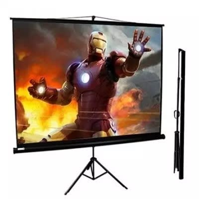 72 X 72 Tripod Projection Screen