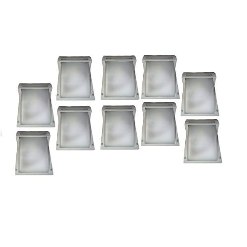 10 Pieces Super Bright Fence Light & Outdoor Wall Lamp.