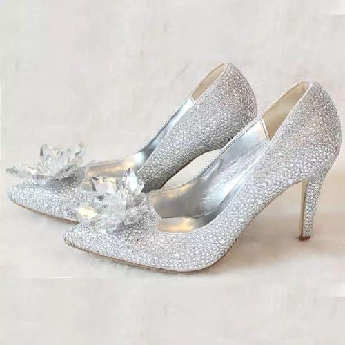 Silver Wedding Shoes.Women S Wedding Shoes Konga Com Konga Online Shopping