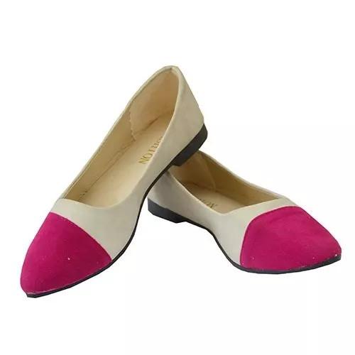 Fashion Woman Womens Flat Shoes - Pink Multicolour | Konga Online Shopping