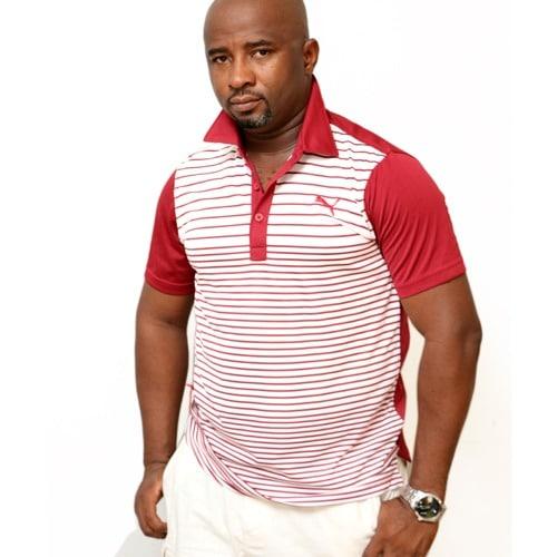a2d8587b4bff Men s Performance Short Sleeve Color Block Golf Polo Shirt