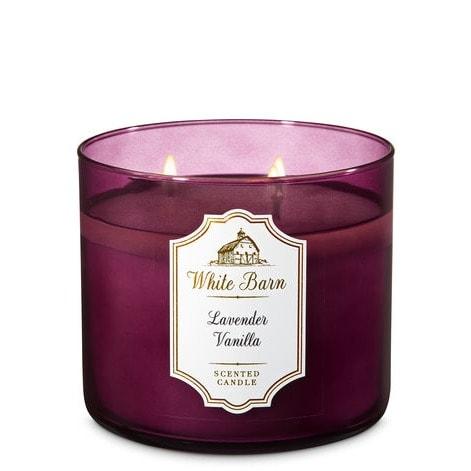 Lavender Vanilla 3-wick Scented Candle