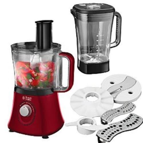 750w Desire Food Processor - Red