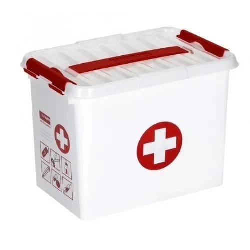 Empty First Aid Kit Storage Box