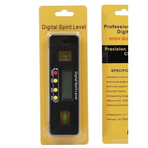 200mm Digital Spirit Level Inclinometer