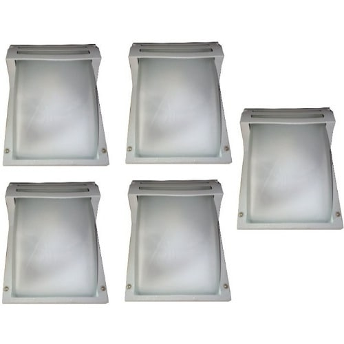 10 Pieces Super Bright Fence Light & Outdoor Wall Lamp