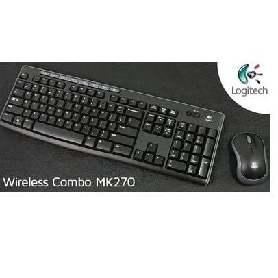 Wireless Keyboard & Mouse - MK270