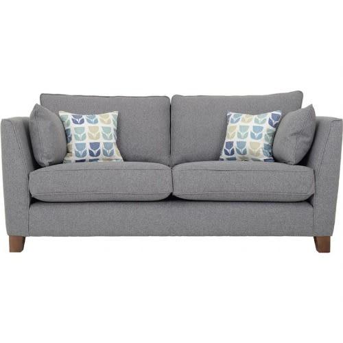 Adiyas 2 Seater Fabric Sofa - Grey