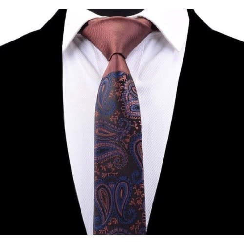 Paisley Patterned Neck Tie for Men
