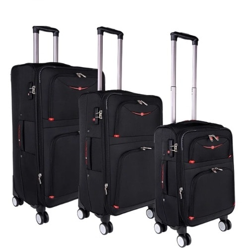 995ca20ce75 360-Degree Wheels Luggage - 3 Pieces .