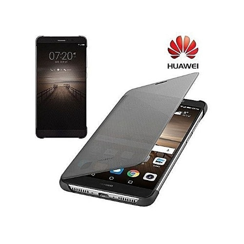 Smart View Flip Cover For Huawei Mate 9 - Black