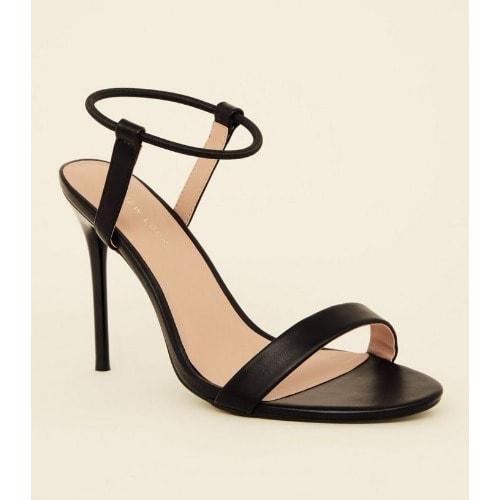 a0660e40778 New Look Black Elastic Ankle Band Sti.