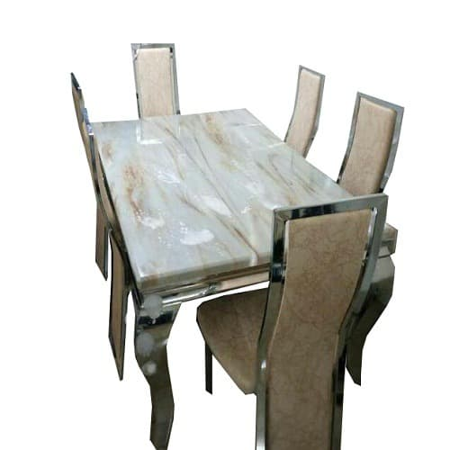 more photos 26230 97df4 Marble Dining Table & 6 Chairs