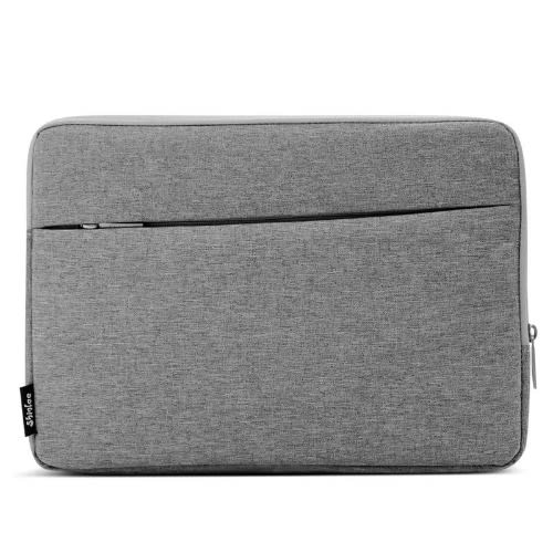 15 Inch Laptop Sleeve Bag Compatible Macbook Pro, Notebook Computer - Grey