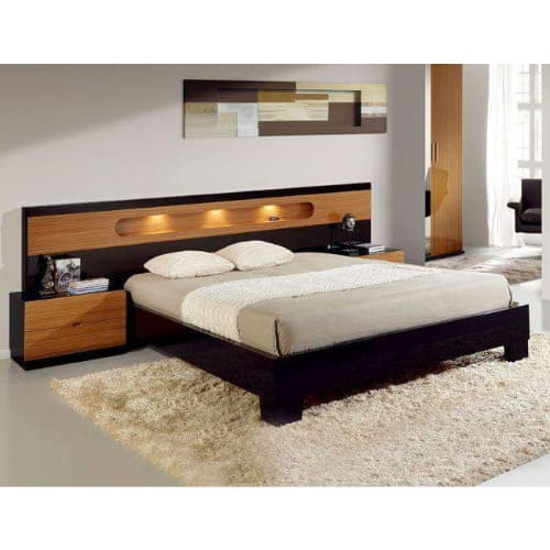 Classic Luxury Light 6ft X 6ft Cupid Bed Frame With 2 Bed + Free Bed Spread