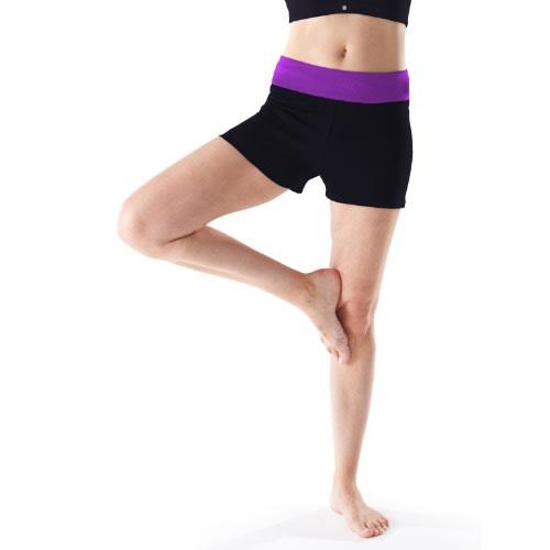 3dd83e292ed5f Cotton Rich Contrast Waist Yoga Shorts | Konga Online Shopping