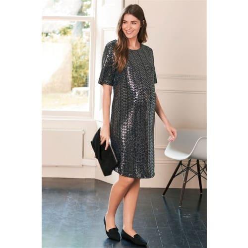 c526d0030e3fe Next Silver Maternity Sequin Dress   Konga Online Shopping