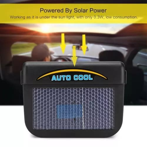 3009085c40b Auto Cool - Solar Powered Car Ventilation Fan | Konga Online Shopping