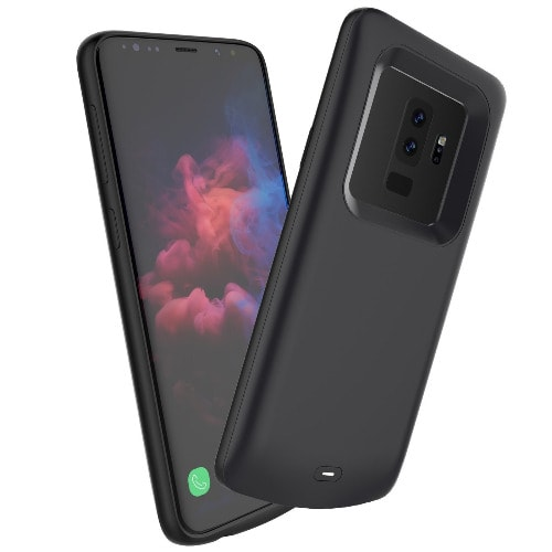 save off f1095 574b1 Samsung Galaxy S9 Plus Battery Case, Life Pro Slim 5200mah Rechargeable  Portable Battery