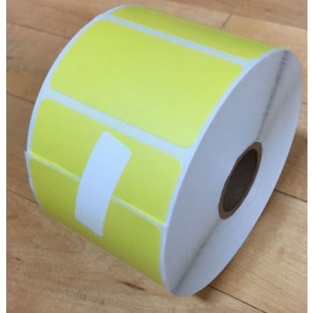 Direct Thermal Paper 60/40 - Yellow