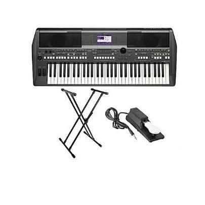 Yamaha Psr-s670, Keyboard Stand And Sustain Pedal | Konga