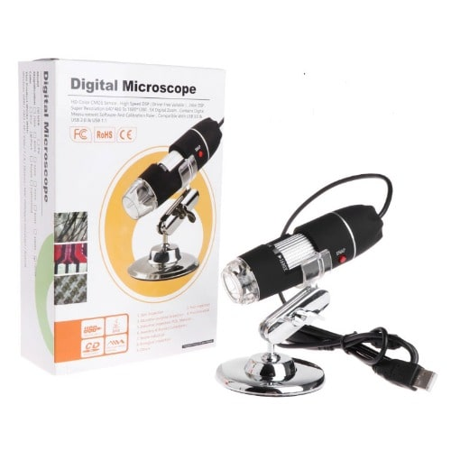 1000x 8 LEDs USB Digital Microscope Endoscope Magnifier Camera