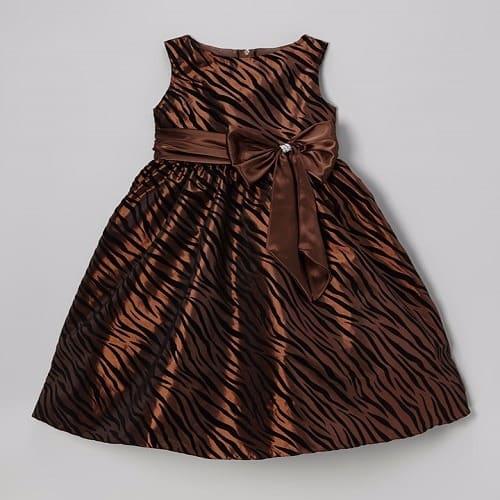 /Z/e/Zebra-Girls-Dress---Brown--5584740_1.jpg