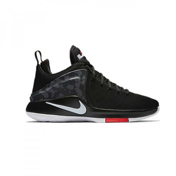 size 40 b3899 c55aa Zoom LeBron Witness Black Camo Shoe
