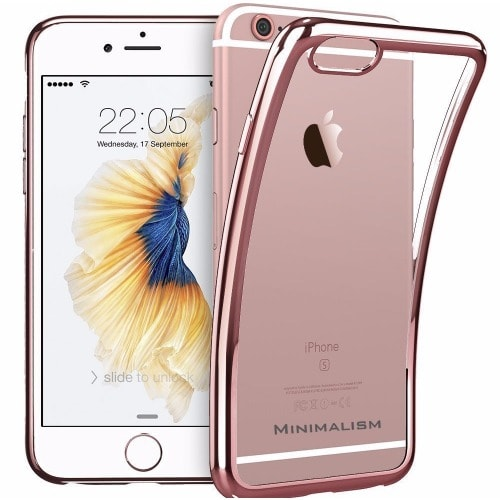 separation shoes ae6a8 24e61 iPhone 6\6s Plus Back Case - Rose Gold