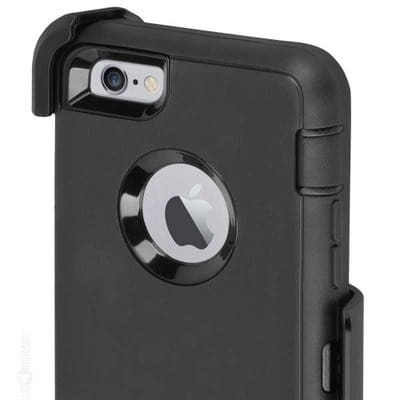 the latest 8c998 98252 iPhone 7 Plus OtterBox Defender Cover Case & Holster -Black