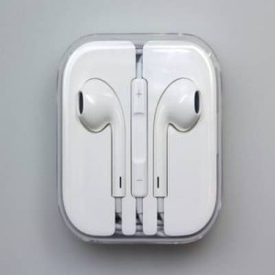 iPhone Earphones , White